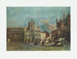 Piazza San Marco, Venice Collectable Print by Francesco Guardi