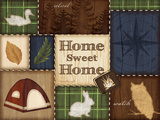 Home Sweet Home Print by Jennifer Pugh