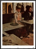 Absinthe Posters by Edgar Degas