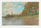 Zaandam Collectable Print by Claude Monet