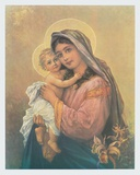 Virgin and Child Collectable Print by  Zatzka