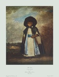 Miss Crewe Collectable Print by Sir Joshua Reynolds