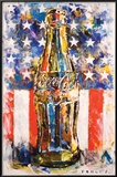 Coca Cola Star & Stripes Art Posters