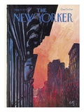 The New Yorker Cover - August 27, 1979 Premium Giclee Print by Arthur Getz