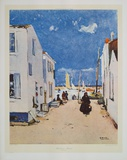 Harbour-street Collectable Print by R. Wintz