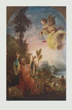 The Prediction to Saint Joachim Collectable Print by Wolf Huber