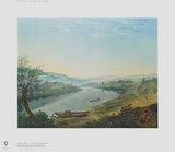 The Elbe near Blasewitz upsteam from Dresden Collectable Print by Anton Graff