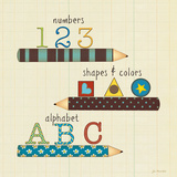 School Basics Prints by Jo Moulton