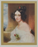 Portrait : A Hungarian Countess Collectable Print by Michael Peter