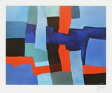 Inwards and Outwards Print by Fritz Winter