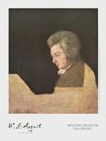 Wolfgang Amadeus Mozart (about 1782/83) Plakater af Joseph Lange