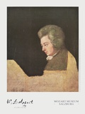 Wolfgang Amadeus Mozart (about 1782/83) Print by Joseph Lange
