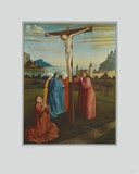 Mourning under the Cross Collectable Print by Konrad Witz