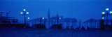 Church of San Giorgio Maggiore with Gondolas Venice Italy Photographic Print by  Panoramic Images