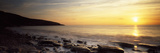 Sunset over the Sea, Celtic Sea, Wales Photographic Print by  Panoramic Images