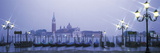 Gondolas San Giorgio Maggiore Venice Italy Photographic Print by  Panoramic Images
