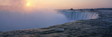 Sunrise Horseshoe Falls Niagara Falls NY USA Photographic Print by Panoramic Images 