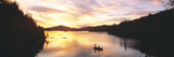 Sunset Saranac Lake Franklin Co Adirondack Mtns NY USA Photographic Print by  Panoramic Images