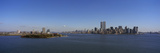 Skyscrapers at the Waterfront, Ellis Island, Manhattan, New York City, New York State, USA Photographic Print by  Panoramic Images