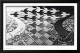 Jour et nuit Posters par M. C. Escher