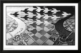 Day and Night Poster van M. C. Escher