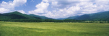 Clouds over Mountains, Cades Cove, Great Smoky Mountains, Great Smoky Mountains National Park, T... Photographic Print by  Panoramic Images