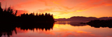 Sunset Broken Islands Pacific Rim National Park BC Canada Photographic Print by  Panoramic Images