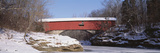 Narrows Covered Bridge Turkey Run State Park in USA Photographic Print by  Panoramic Images