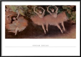Ballett Um, 1879 Prints by Edgar Degas