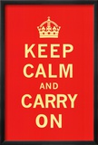 Keep Calm and Carry On Láminas