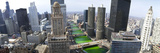 St. Patrick&#39;s Day Chicago IL USA Photographic Print by Panoramic Images 