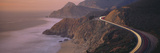 Dusk Highway 1 Pacific Coast CA USA Photographie par Panoramic Images