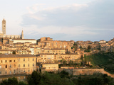 Buildings in a City, Siena, Italy Photographic Print by  Panoramic Images