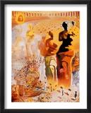 Der halluzinogene Torero, ca. 1970 Poster von Salvador Dalí