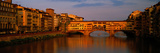 Ponte Vecchio Arno River Florence Italy Photographic Print by  Panoramic Images
