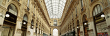 Interiors of a Hotel, Galleria Vittorio Emanuele Ii, Milan, Italy Photographic Print by  Panoramic Images