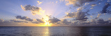 Sunset 7 Mile Beach Cayman Islands Caribbean Photographic Print by  Panoramic Images