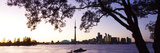 Skyline Cn Tower Skydome Toronto Ontario Canada Photographic Print by  Panoramic Images