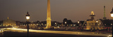 Place De La Concorde Paris France Photographic Print by Panoramic Images