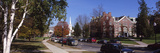 Cars Parked in Front of a College, Dartmouth College, Hanover, New Hampshire, USA Photographic Print by  Panoramic Images