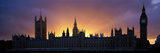 Sunset Houses of Parliament and Big Ben London England Photographic Print by  Panoramic Images