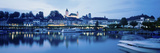Switzerland, Rapperswil, Lake Zurich Photographic Print by  Panoramic Images