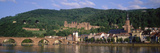 Germany, Heidelberg, Neckar River Photographic Print by  Panoramic Images