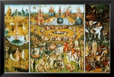 Der Garten der Lüste The Garden of Earthly Delights, ca. 1504 Poster von Hieronymus Bosch