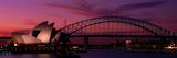 Australia, Sydney, Sunset Fotografie-Druck von  Panoramic Images