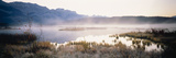 Lake with Mountains in the Background, Canadian Rockies, Alberta, Canada Photographic Print by  Panoramic Images
