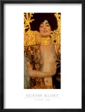 Judith I Pster por Gustav Klimt