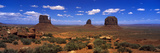 Monument Valley UT \ AZ Photographic Print by  Panoramic Images
