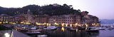 Boats at a Harbor, Portofino, Genoa, Liguria, Italy Stampa fotografica di Panoramic Images,