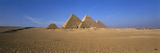 The Great Pyramids Giza Egypt Photographic Print by  Panoramic Images